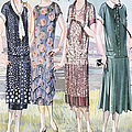 1920s Usa Womens Mail Order Catalogues Print by The Advertising Archives