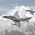 A4 - Skyhawks Poster by Pat Speirs