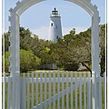 Ocracoke Island Lighthouse Print by Mike McGlothlen