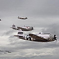 P47 Thunderbolt  Top Cover Poster by Pat Speirs