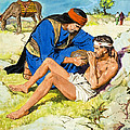 The Good Samaritan  Poster by Clive Uptton