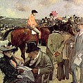The Horse Race Print by Jean Louis Forain