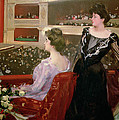 The Lyceum Print by Ramon Casas i Carbo