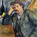 The Smoker Poster by Paul Cezanne