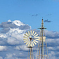 water windmills Print by Stylianos Kleanthous