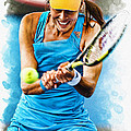 Ana Ivanovic Poster by Don Kuing
