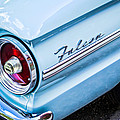 1963 Ford Falcon Futura Convertible Taillight Emblem Print by Jill Reger