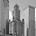 35 East Wacker Chicago - Jewelers Building Poster by Christine Till