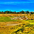 #4 at Chambers Bay Golf Course - Location of the 2015 U.S. Open Championship Print by David Patterson