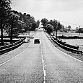 a69 road on the border of cumbria and northumberland uk Print by Joe Fox
