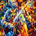 BB KING  LONG NIGHTS Poster by Leonid Afremov