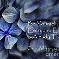 Be Yourself Print by Karen Lewis