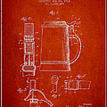 Beer Stein Patent from 1914 Print by Aged Pixel