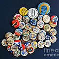 Buttons Poster by Gwyn Newcombe