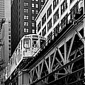 Chicago Loop 'L' Print by Christine Till