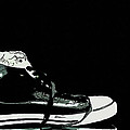 Converse sports shoes Print by Tommy Hammarsten