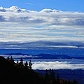 Courthouse Valley Sea of Clouds Poster by Michael Weeks