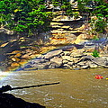 Cumberland Falls Rainbow Poster by Frozen in Time Fine Art Photography