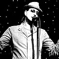 Cy Curnin - The Fixx - Vocalist Print by Anthony Gordon Photography
