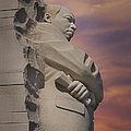 Dr. Martin Luther King Jr Memorial Poster by Susan Candelario