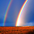End of the Rainbow Print by Ron Regalado