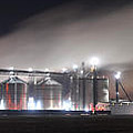 Ethanol plant in Watertown Print by Dung Ma