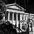 former national congress building Santiago Chile Print by Joe Fox