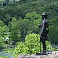 General Warren at Little Round Top Print by John Greim