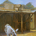 Ghost Town Print by Gail Daley