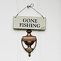 Gone Fishing Forever Print by Tim Gainey