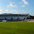 Hampshire County Cricket Ground Poster by Terri  Waters