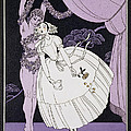 Karsavina Print by Georges Barbier