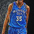 Kevin Durant Poster by Taylan Soyturk