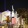 Las Vegas - New York New York Casino - 12122 Print by DC Photographer