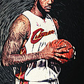 LeBron james Print by Taylan Soyturk