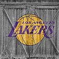 LOS ANGELES LAKERS Poster by Joe Hamilton