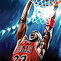 Michael Jordan Artwork Print by Sheraz A