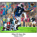 Miracle At Jordan-Hare Print by Lance Curry