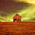 Old House on the hill Print by Edward Fielding