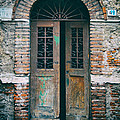 Old Italian Doorway Poster by Mountain Dreams