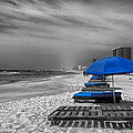 Orange Beach in Alabama Poster by Mountain Dreams