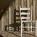 Porch Chair Print by Garry McMichael