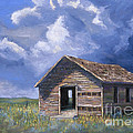Prairie Church Print by Jerry McElroy