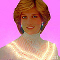 Princess Diana Poster by Michael Rucker