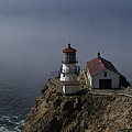Pt Reyes Lighthouse Poster by Bill Gallagher