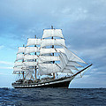 Sailing ship Print by Anonymous