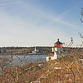 Squirrel Point Lighthouse Kennebec River Maine Print by Keith Webber Jr