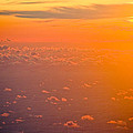 Sunset in the sky Print by Raimond Klavins