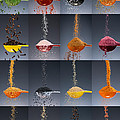 1 Tablespoon Flavor Collage Print by Steve Gadomski