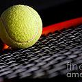 Tennis equipment Print by Michal Bednarek